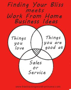 finding work from home business ideas