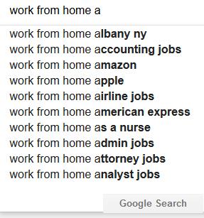 alphabet soup google suggest