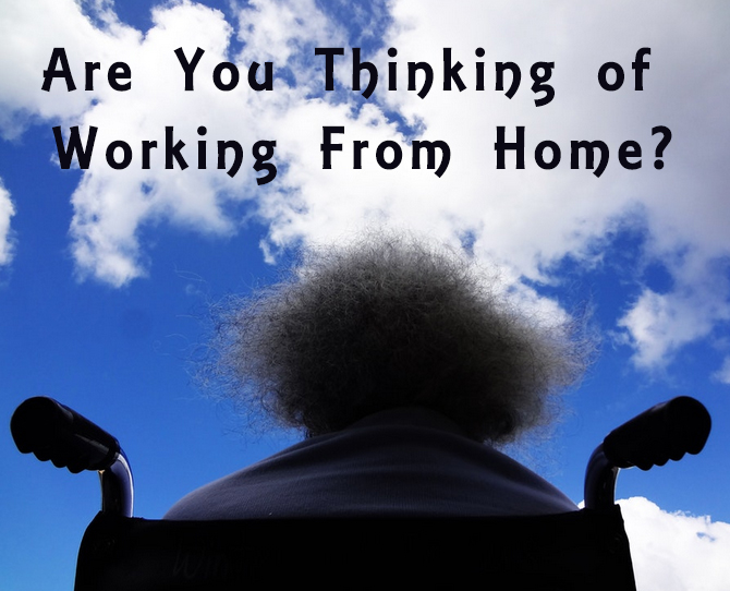 disabled working from home